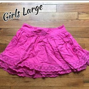 Girls large skirt nwot